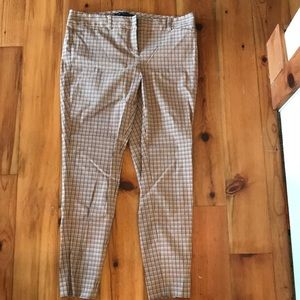 Plaid stretch dress pants size 12 by THE LIMITED